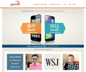 Best place to sell iphones | GadgetGone