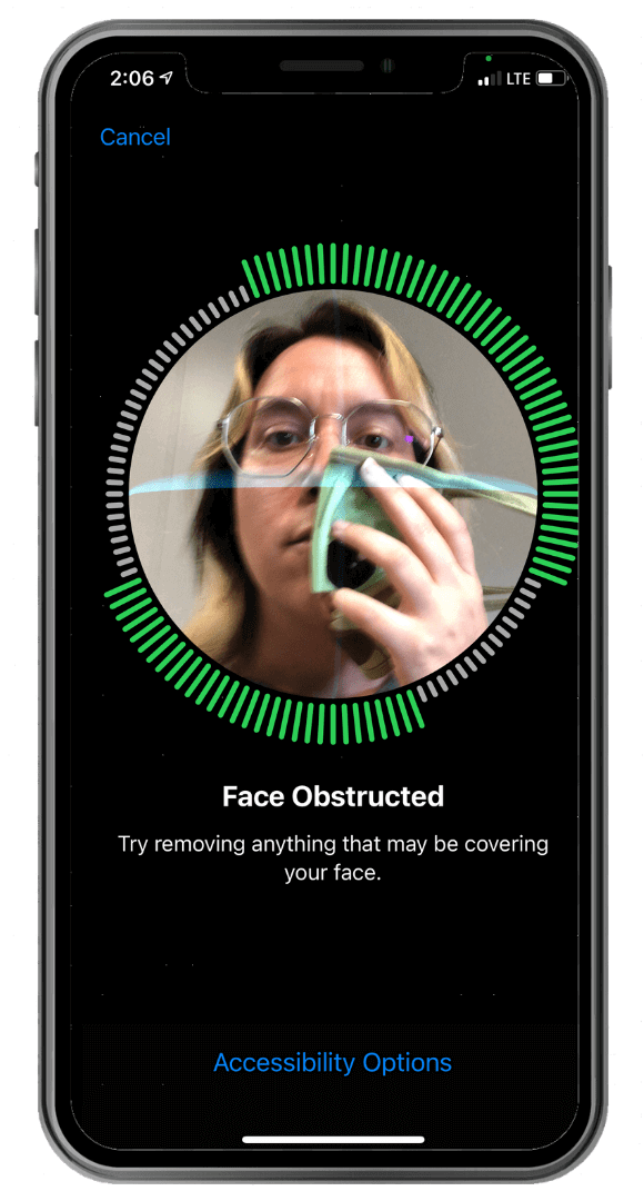 How to use Face ID with a mask - iPhone
