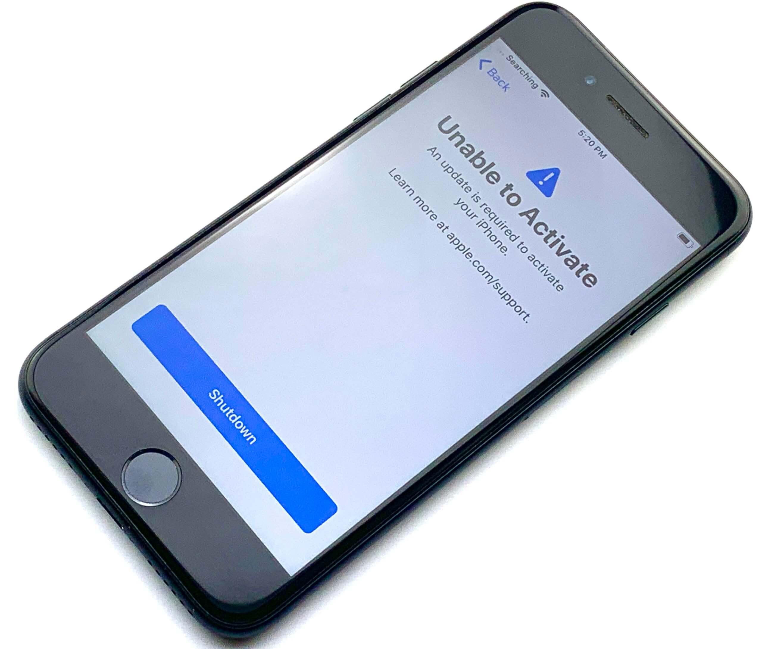 iPhone 7 no service | GadgetGone