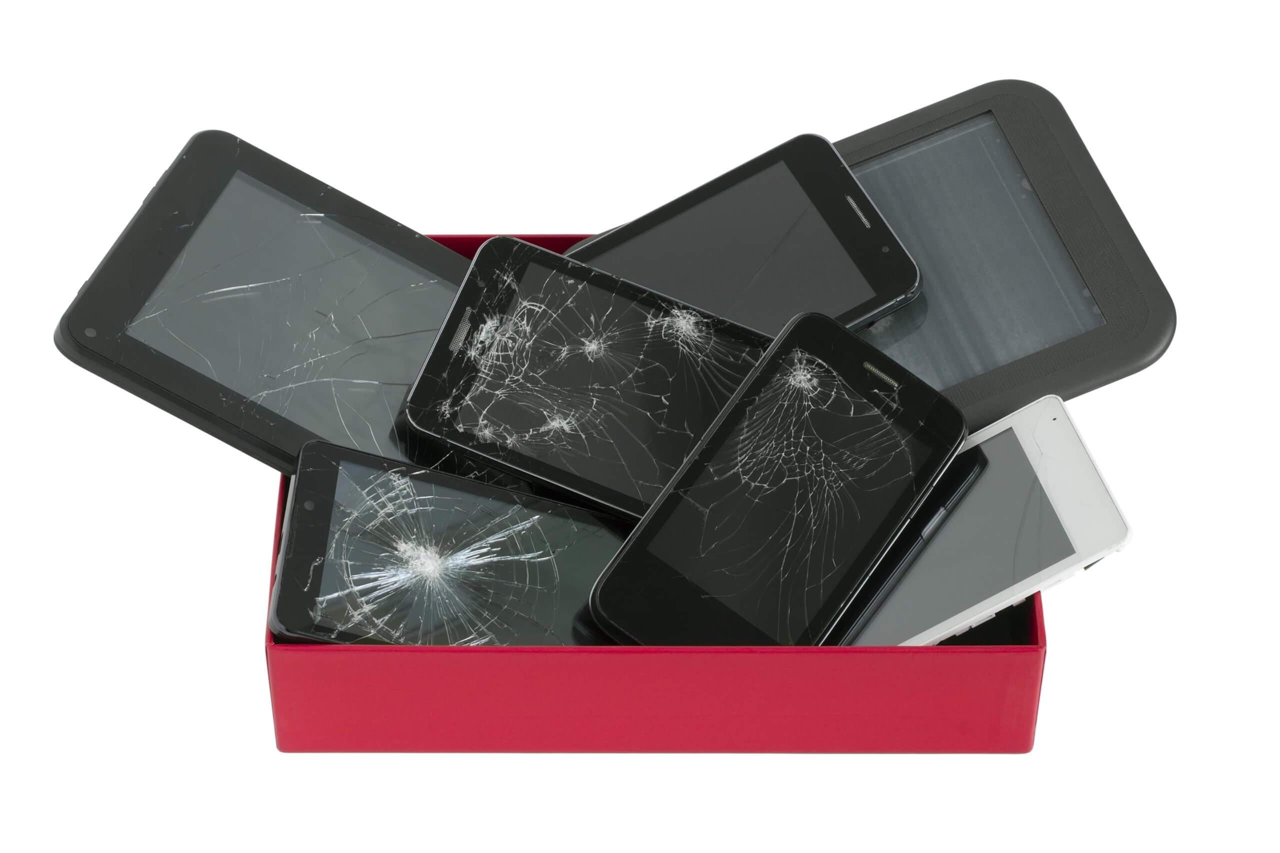 trade in broken iphone