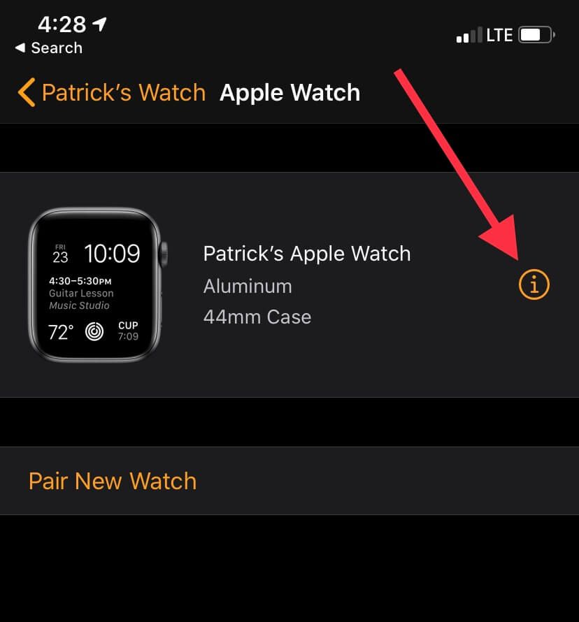 how to reset apple watch | GadgetGone