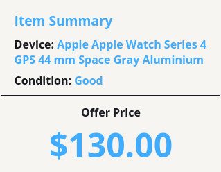 Apple Watch trade-in value with Decluttr