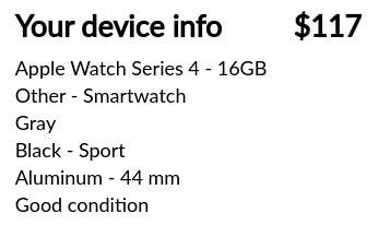 Apple Watch trade-in value with Trademore