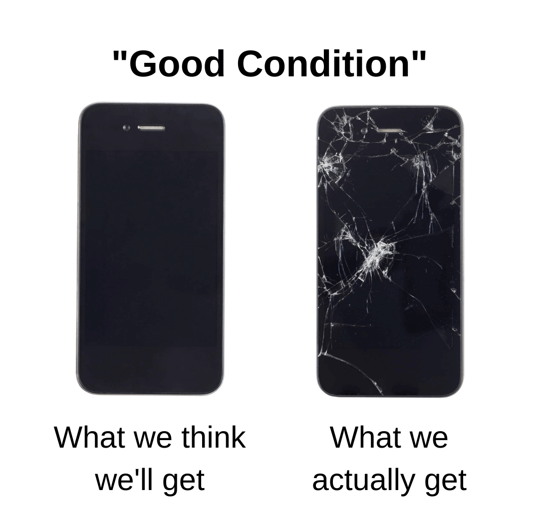 Good Condition Phone - Expectation vs. Reality