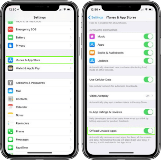 How to free up space on iPhone by offloading unused apps
