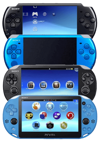 Sell PS Vita and PSP for cash to GadgetGone