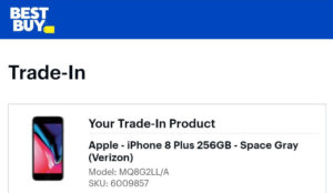 Best Buy iPhone Trade-In Value