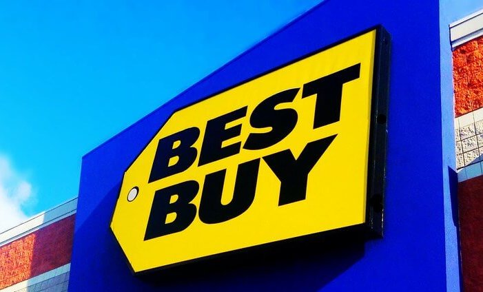 Best Buy store - exterior