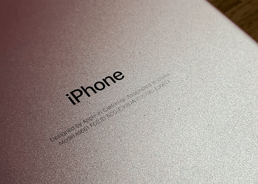 Look on the back of your iPhone for its model number