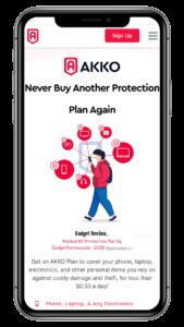 AKKO Plan - Best Overall Cell Phone Insurance