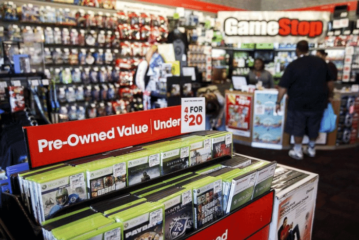 Trade in in-store at GameStop.
